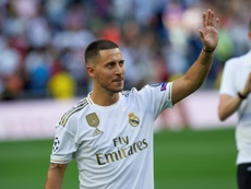 Hazard can't wait to get started at Real Madrid. EFE