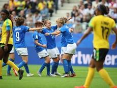 Italia y Brasil lucharán en la última jornada por el primer puesto del grupo. EFE/Archivo