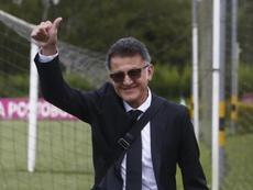 Osorio disparó la ilusión de Atlético Nacional. EFE