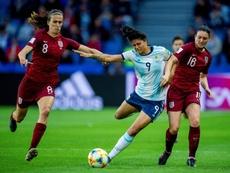 Argentina plantó cara a Inglaterra de forma histórica. EFE