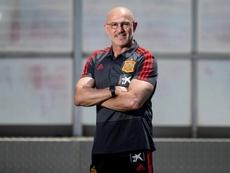 De la Fuente valoró el papel de España en el Europeo Sub 21. EFE