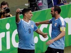 Uruguay se une al selecto club de los 400. EFE