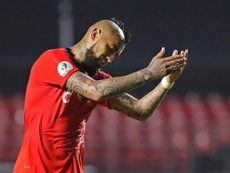Arturo Vidal espera que Alexis Sánchez coja confianza. EFE