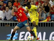 Suecia convoca a Isak para medirse a España. EFE