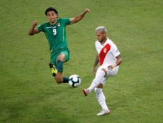 Martins fue el autor del único gol de su Selección frente a Argentina. EFE