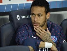 O primeiro não do PSG ao Barça por Neymar. EFE/Archivo