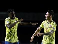 Colombia, a cuartos de final. EFE