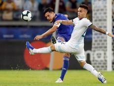 Gómez sueña con el empate entre Japón y Ecuador. EFE