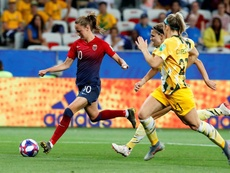 Noruega pasó de ronda ante Australia. EFE/EPA