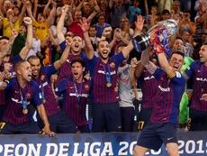 El FC Barcelona irá primero a Cartagena. EFE