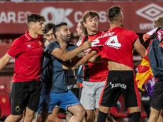 El Mallorca remontó la eliminatoria al Dépor. EFE
