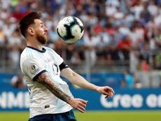 Messi está listo para volver a competir con Argentina. EFE