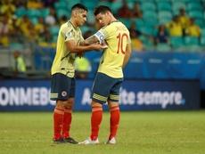 La Federación Colombiana desmintió a Queiroz en el 'caso James'. EFE