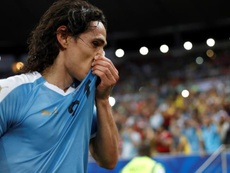 PSG will negotiate Cavani's exit for offers greater than 14 million. EFE