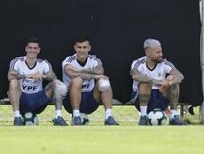 De Paul habló sobre Leo Messi. EFE