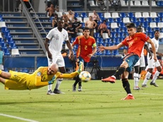 Marc Roca ya piensa en la final ante Alemania. EFE