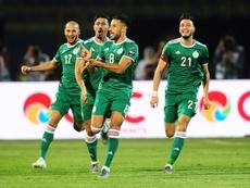 Argelia está en semifinales de la Copa África. EFE