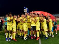El Villarreal fue el último campeón. EFE