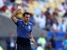Scaloni fica na Argentina até a Copa do Mundo do Catar. EFE