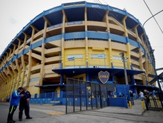 Falsa ameaça de bomba em La Bombonera. EFE