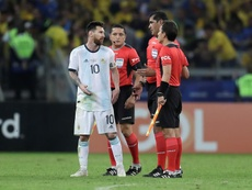 Roddy Zambrano explained the controversies in the Brazil-Argentina game. EFE