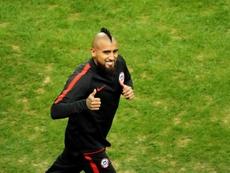 El Inter solo se plantea contar con Arturo Vidal si es en calidad de cedido. EFE