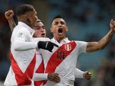 Yotún ya piensa en la siguiente Copa América. EFE/FernandoBizerra