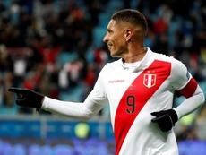 River Plate reconoció que tanteó a Paolo Guerrero. EFE/Sebastião Moreira