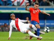 Vargas falló y le llovieron las críticas. EFE