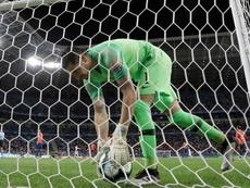 Arias desveló los pormenores de su participación en la Copa América. EFE