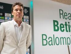 Rubí analizó el partido contra el Barça. EFE