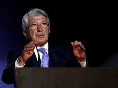 Enrique Cerezo alzó la voz en el 'caso Griezmann'. EFE