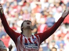 Morata fait douter Diego Simeone. EFE