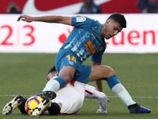 Rodri no sabría quedarse con uno entre Simeone y Guardiola. EFE