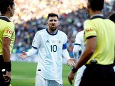 Veron prêt à accueillir Messi à l'Estudiantes. EFE