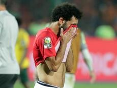 Salah parece defraudado tras no estar ni en el podio del 'The Best'. EFE/Archivo