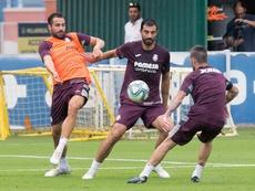 El Villarreal vuelve a contar con muchos jugadores de casa. EFE/Domenech Castelló
