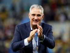 Os 59 anos de Tite e o momento crítico na Seleção. EFE/Julio César Guimarães