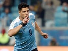 Cavani, Suárez et Godín font leur retour avec l'Uruguay. EFE