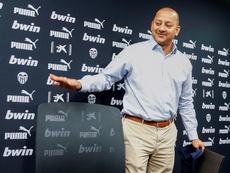 Murthy insistió en el Nuevo Mestalla y habló de la ruptura con ADU. EFE