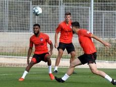 Thomas Lemar, cada vez mais longe do Atlético de Madrid. EFE/ Pablo Martin