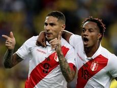 Guerrero volta à lista da Seleção Peruana. EFE/Fernando Bizerra/Archivo