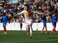 Abel Ruiz hace de Ibai y monta un torneo de FIFA con 14 internacionales Sub-21. EFE