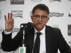 Osorio presentó sus disculpas en público. EFE/ Luis Eduardo Noriega/Archivo