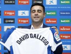 Gallego reivindicó el trabajo de sus jugadores. EFE
