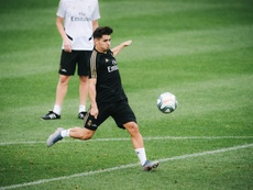 Brahim Díaz ainda pertende ao Real Madrid. EFE/ Johany Jutras
