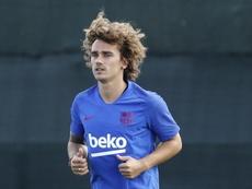 Le Barça est encore plus favori pour la LDC avec Griezmann. EFE/Andreu Dalmau
