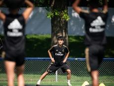 Le plan pour que Kubo puisse jouer dans l'équipe première. EFE/Johany Jutras
