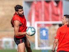 Diego Costa está de vuelta. EFE/ Rodrigo Jiménez