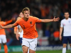 De Ligt habló de su peso tras sus primeros meses en la Juventus. EFE